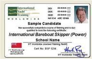Theoretical course ONLINE IYT Bareboat skipper CAPTAIN